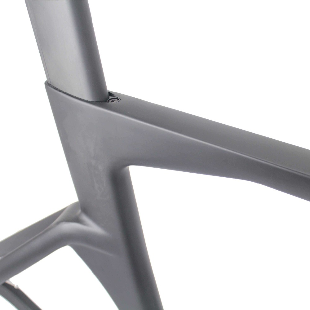 TR018 Aero Carbon Track Frame with Stem