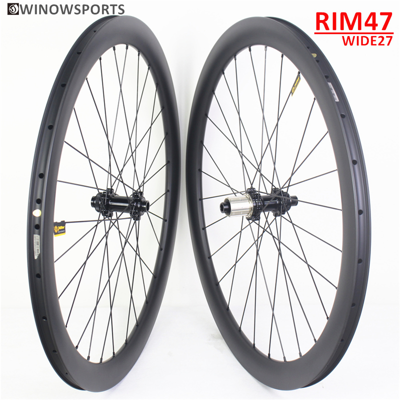 WSR47-28TU Gravel Carbon Wheel